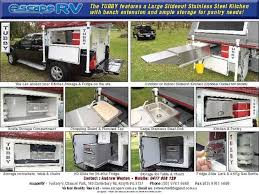 Stainless Steel Caravan Slide Out Kitchen 2 Drawers Sink Bench New Escape Rv Tubby Camper Trailers For Sale
