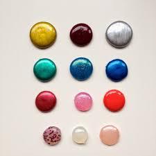 create cool dots with a glue gun and nail polish let u0027s make