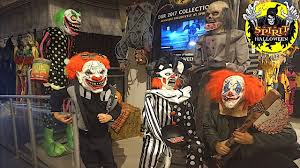 2017 spirit halloween store tour costumes and scary decorations