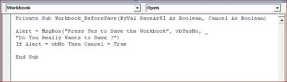 excel vba worksheet save event excel vba save as pdf step by