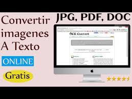 convertir imagenes jpg a pdf gratis como convertir imagenes a texto ocr escaner online gratis pcwebtips