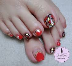 kit ro nail salon february chinese new year 2015 nail design