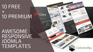 20 most awesome responsive joomla templates free premium