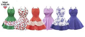 Womens Aprons Beautiful British Designed Aprons For Women And Children