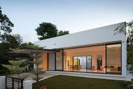 house with courtyard gallery of mandai courtyard house atelier m a 1
