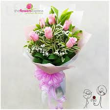 flowers express the flowers express philippines send flowers with feelings pink