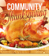 community thanksgiving dinners the mountain jackpot news