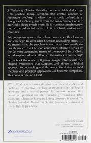 theology of christian counseling a jay e adams 9780310511014