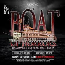 the 2016 boat of horrors boat party tickets 10 21 16