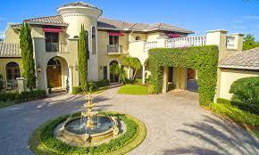 4 4 million mediterranean lakefront mansion in boca raton fl