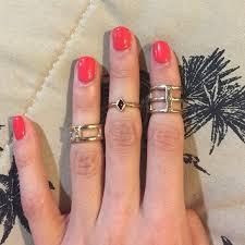 finger rings set images Forever 21 accessories 5 pc mid finger ring set added 2 rings jpg