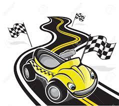 cartoon race car cute race car royalty free cliparts vectors and stock