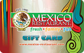 restaurant egift cards mexico restaurant egift card