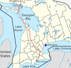 What Is A Road Map Ontario Highway 6 Wikipedia