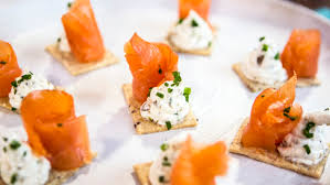 cuisine canapé smoked salmon canape