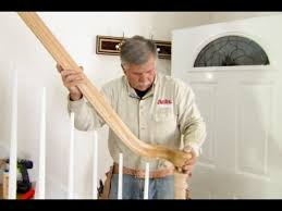 Sanding Banister Spindles How To Replace A Stair Railing This Old House Youtube