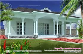 One Floor Home Plans Single Story Modern House Plans In Kerala Escortsea