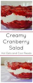 eats and cool reads cranberry salad recipe