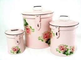antique canisters kitchen decorative kitchen canisters sets foter