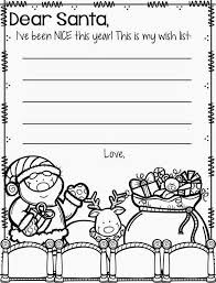 letter to santa template printable black and white cute letter to santa template kinderland collaborative pinterest