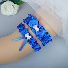 Wedding Garters Discount Royal Blue Wedding Garters 2017 Royal Blue Wedding