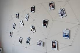 wall display diy polaroid photo wall display youtube