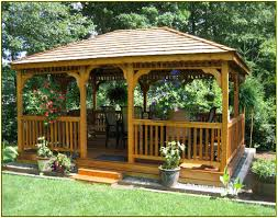 Patio Gazebo Ideas by Triyae Com U003d Gazebo Backyard Ideas Various Design Inspiration