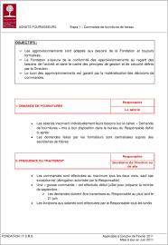 plan comptable fourniture de bureau objectifs achats fournisseurs etape 1 commande de fournitures de