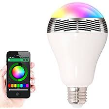 cr led bluetooth smart led light bulb dimmable color changing