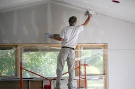 five levels drywall finishing