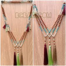 handmade necklace with beads images Bali fashion necklaces mala beads handmade jewelry bali fashion jpg