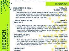 Bartender Resume Templates Newest Bartender Resume Examples Bartender Resume Template Choose