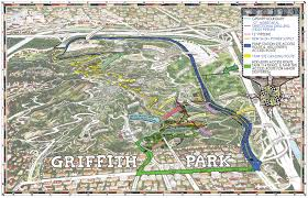 griffith park map dwp s griffith park water recycling project