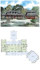 House Plans 5 Bedroom by U Shaped 5 Bedroom Family Home Floor Plans Pinterest
