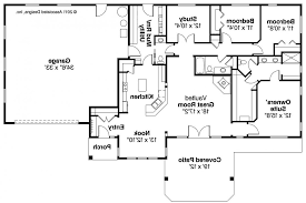 Small Ranch Style House Plans Elk Lake Ociated Designs Floor Home Plans With Open Bat