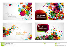 business card templates stock vector image of graphic 15042268