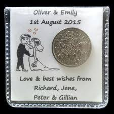 wedding gift for groom 2 x lucky sixpence wedding gift for the and groom