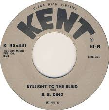 Is Bb King Blind 45cat B B King Eyesight To The Blind Just Like A Woman