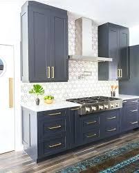 Two Coloured Kitchens Blue Kitchen Cabinet U2013 Sequimsewingcenter Com