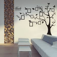 modern wall decals for living room stunning decorative wall decal ideas trees branches flying birds log