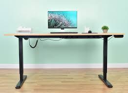 Adjustable Height Workstation Desk by Desk V102e Vivo Vivo Black Electric Stand Up Desk Frame