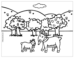cute goat coloring chevre coloring pages coloring pages of goat