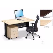 Maple Office Desks Deco Office Table With Mobile Drawers Office Desk Office Meeting