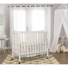 Folding Baby Bed 2 In 1 Lightweight Folding Portable Crib Dream On Me