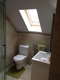loft conversion bathroom ideas a loft conversion bathroom featuring roman s embrace quadrant