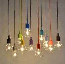 Vintage Light Bulb Pendant Diy Colorful Edison L Color Ceiling Pendant W Vintage