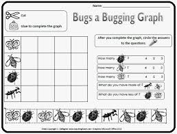 bug graphing from teaching heart u0027s bugs and caterpillar packet