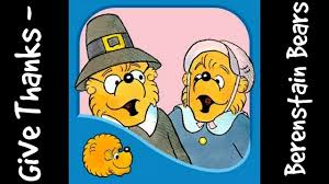 the berenstain bears celebrate thanksgiving