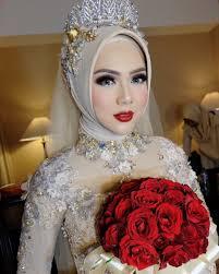 tutorial hijab syar i untuk pernikahan elvasoemantri wedding reception wedding organizer wildan setiawan