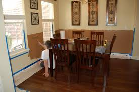 painting ideas for dining room with chair rail alliancemv com